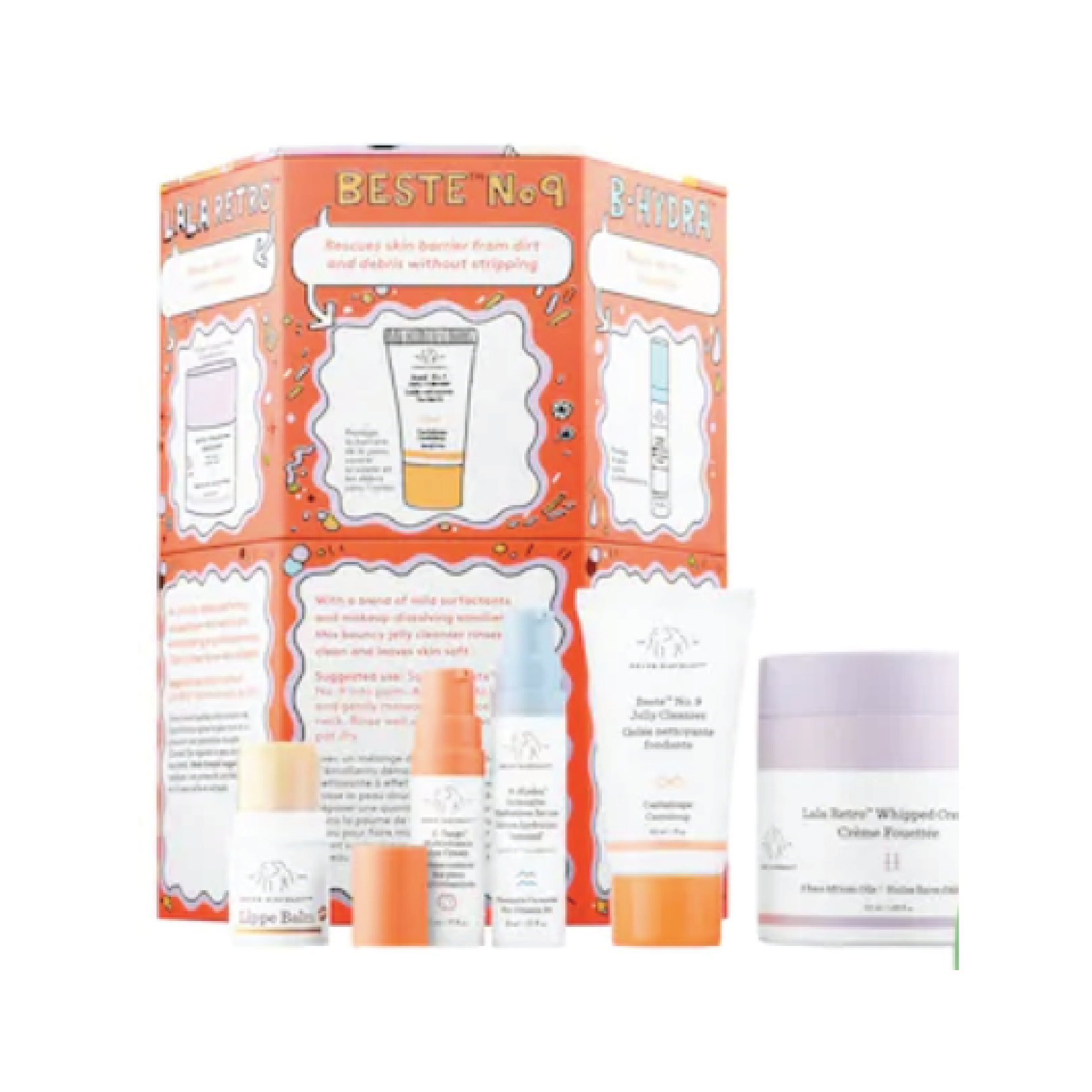 Drunk Elephant Rescue Party Kit - $75 at SephoraDrunk Elephant has some of the most luxe skincare out there, with the most fun name. This set is a great travel set of their best sellers and cult favorites.