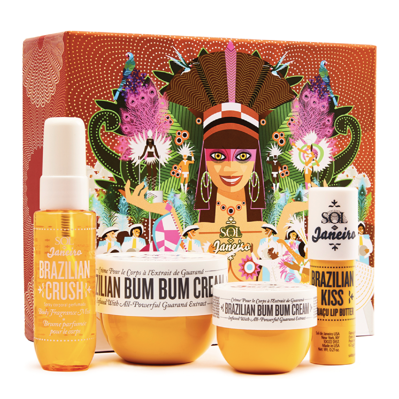 Sol de Janeiro Carnival Magic Set - $38 at Sol de JaneiroI haven't stopped hearing amazing things about Sol de Janeiro's Bum Bum cream and this is a fantastic set to try them out in. Perfect for someone who lives in colder weather and lives for body lotion.