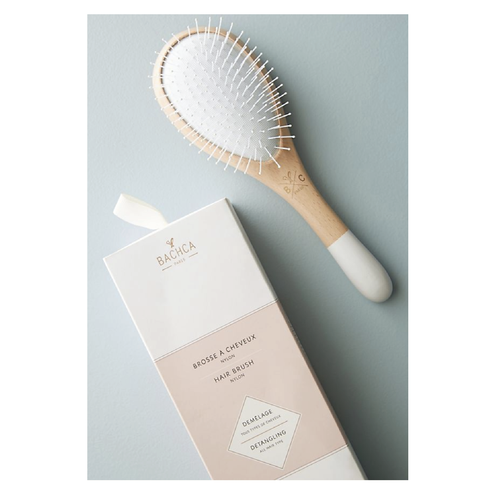 Bachca Paris Detangle Hair Brush - $29 at AnthropologieKnots are a problem at any hair length. Smooth them out with this minimal brush.