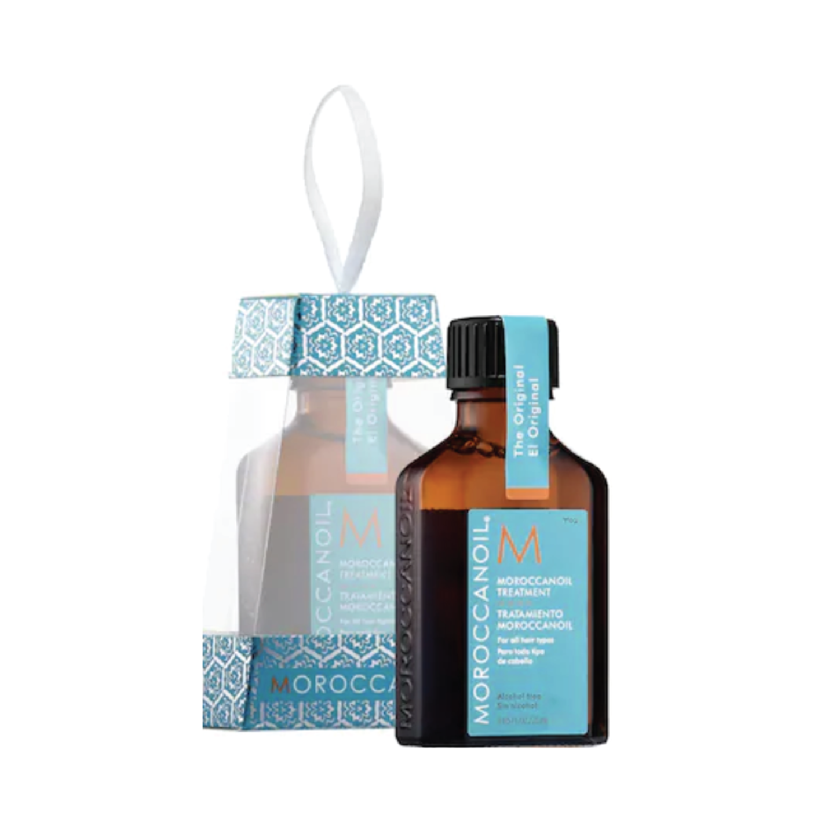 Moroccanoil Treatment Ornament - $15 at SephoraI used to use this oil religiously on my strands before getting extensions. It's great for locking in moisture and protecting against heat damage, and smells incredible.