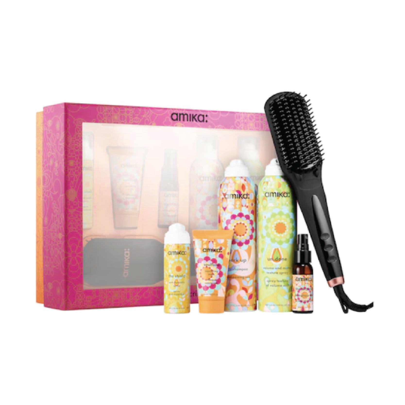 Amika Smooth Criminal Polished Perfection Gift Set - $120 at SephoraAmika is one of my favorite hair care brands. Heat brushes are the biggest trend right now and this pack comes with some of their best selling products.