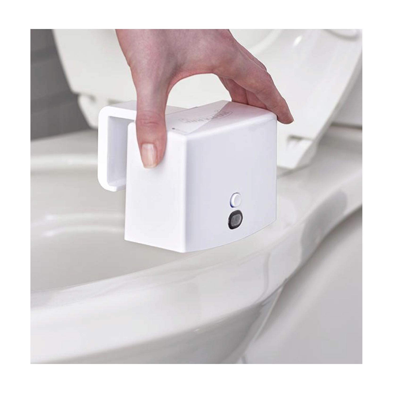 Poo-Pourri The Assistant - $49.99 at Poo-Pourri (currently on sale Buy One Get One Free)This automatic toilet deodorizer works before you go with one swipe of the hand. Discreet and functional, this is honestly just a great gift for anyone.