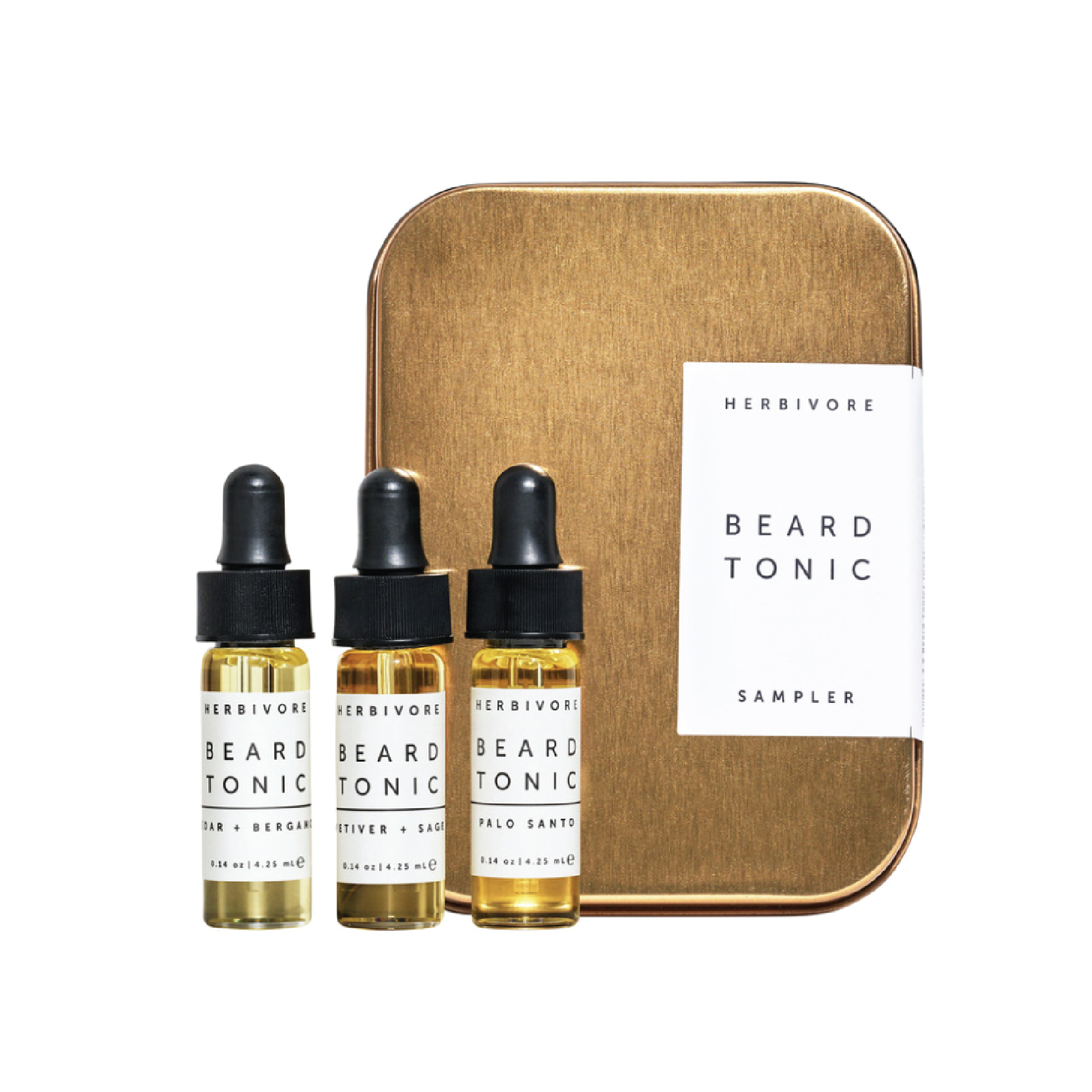 Herbivore Botanicals Beard Tonic Sampler - $22 at GoopThis is the cutest minimal packaging and comes with three plant-based oils to help nourish and condition facial hair.