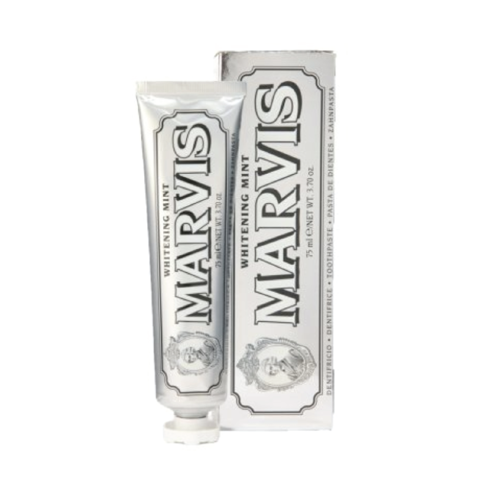 Marvis Whitening Toothpaste - $13.50 at DermstoreI love Marvis toothpaste. Their unique formulas and vintage packaging make them the perfect product to spice up a bathroom counter.