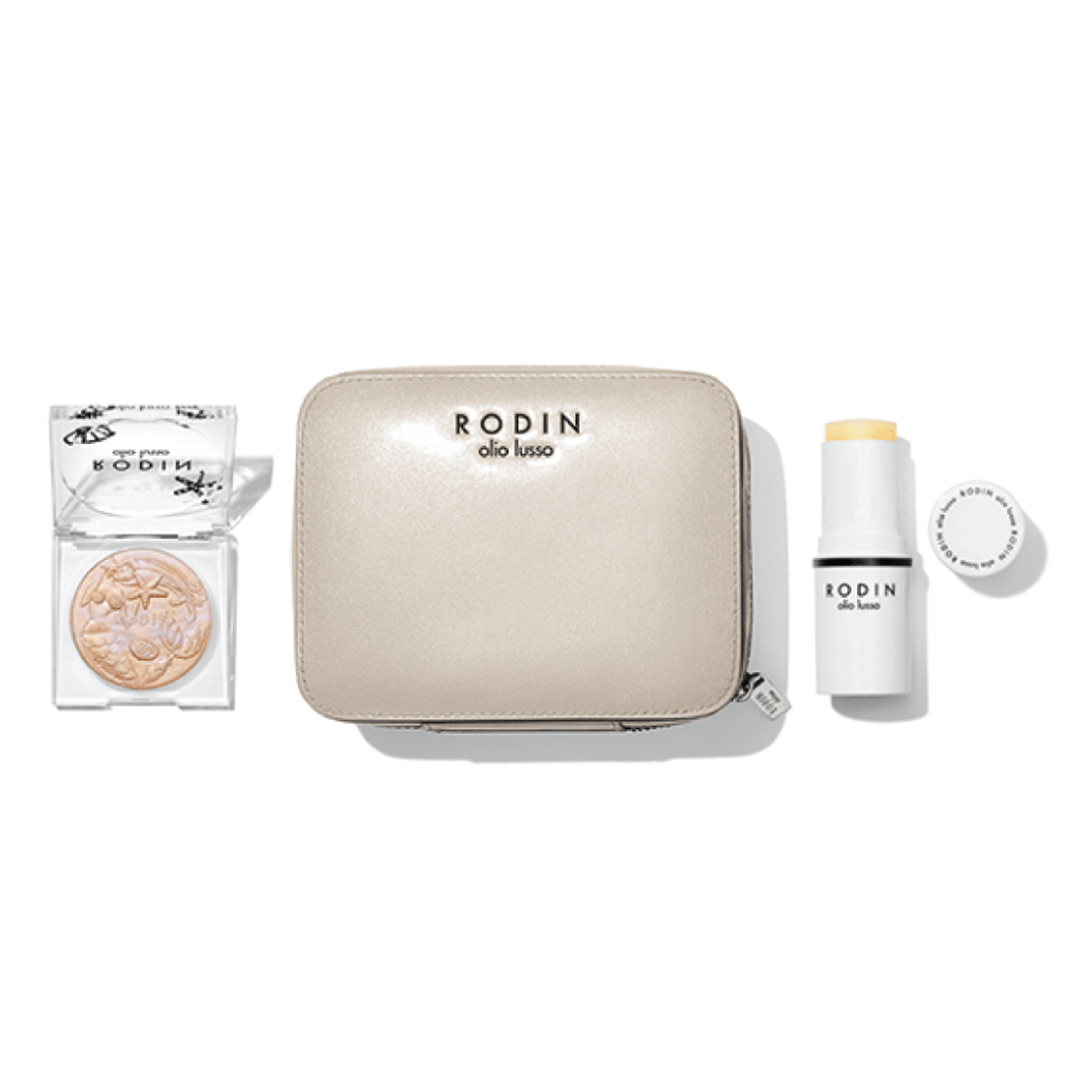 RODIN olio lusso Glow Kit - $110 at RODINRODIN makes the most gorgeous products, from formula to packaging. This gift set has their super popular mermaid illuminating powder and jasmine and neroli face oil stick for someone who loves to always be glowing.
