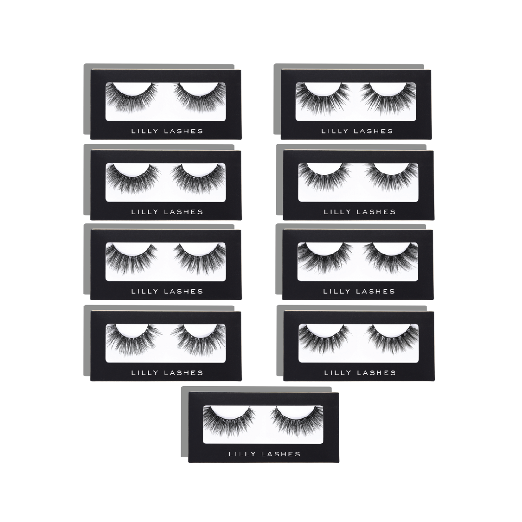 Lilly Lashes Premium Synthetic Full Collection - On sale for $90 at Lilly LashesLilly Lashes is known among celebrities and makeup artists for having some of the most long-lasting and amazing strip lashes. This full collection will easily last someone all year.