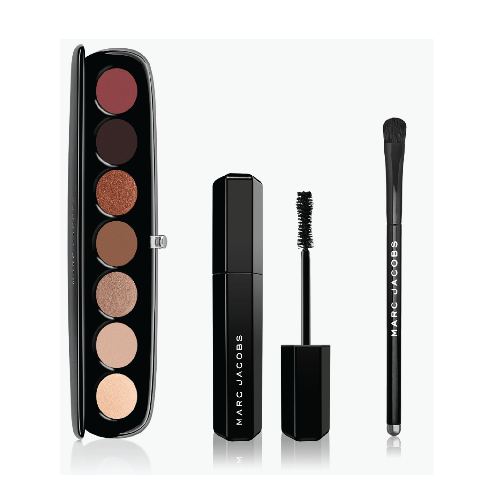 Marc Jacobs Beauty The Dressed Eye Set - On sale for $69 at Marc Jacobs BeautyThese shadow palettes are iconic and this is honestly a great price for three full-size luxe products. It also comes with one of my favorite everyday mascaras.