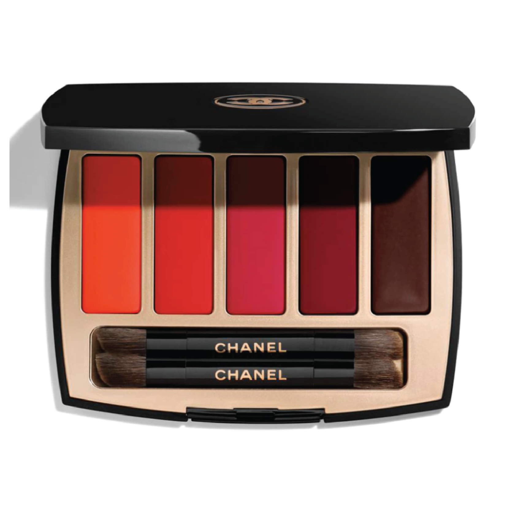 Chanel La Palette Caractére Lip Palette - $60 at NordstromThis Chanel lipstick clutch is the perfect thing to throw in your bag to switch up any look throughout a busy day.