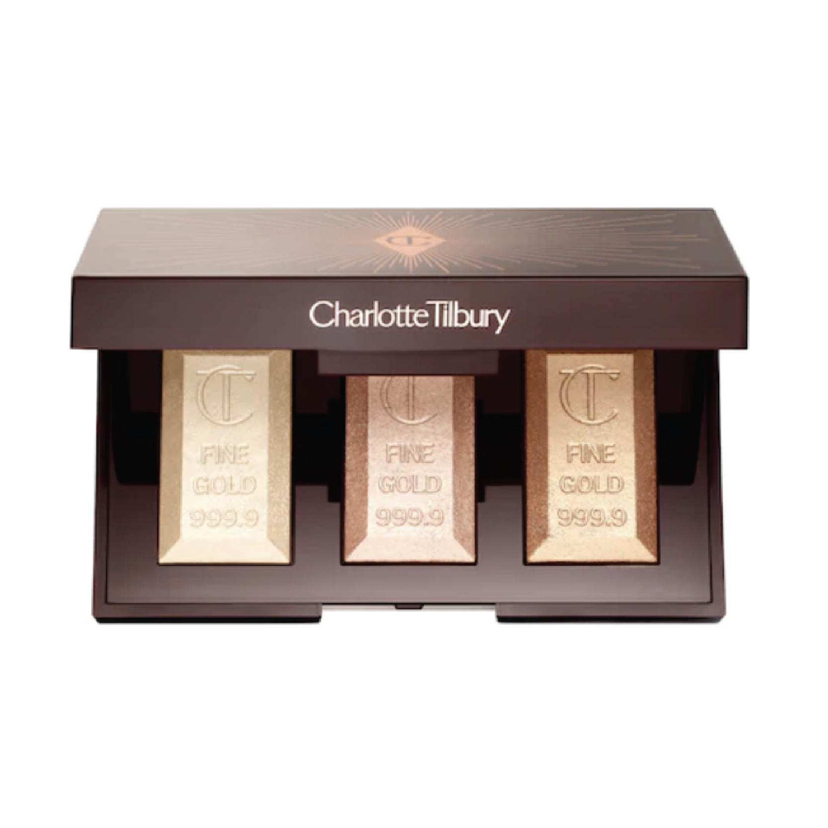 Charlotte Tilbury Bar of Gold Highlighting Palette - $58 at SephoraCharlotte Tilbury is known for her incredible natural glow. Her products blend so well they'll make you wonder if it's actually your skin.
