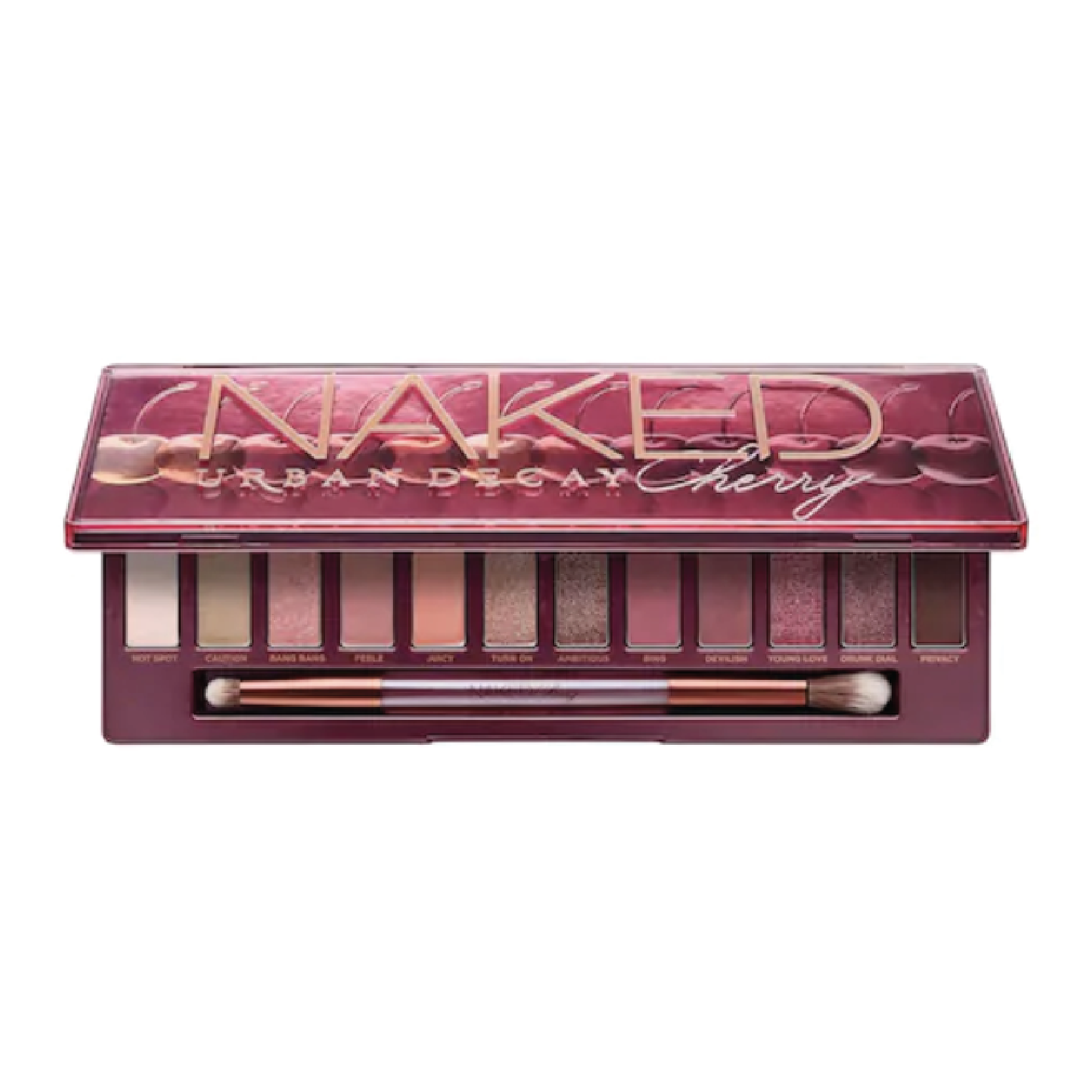 Urban Decay Naked Cherry Eyeshadow Palette - $49 at SephoraCherry shades are super in for winter and this palette's pink tones can easily transition into spring. I've been eyeing this all season and the Naked palettes are legendary!