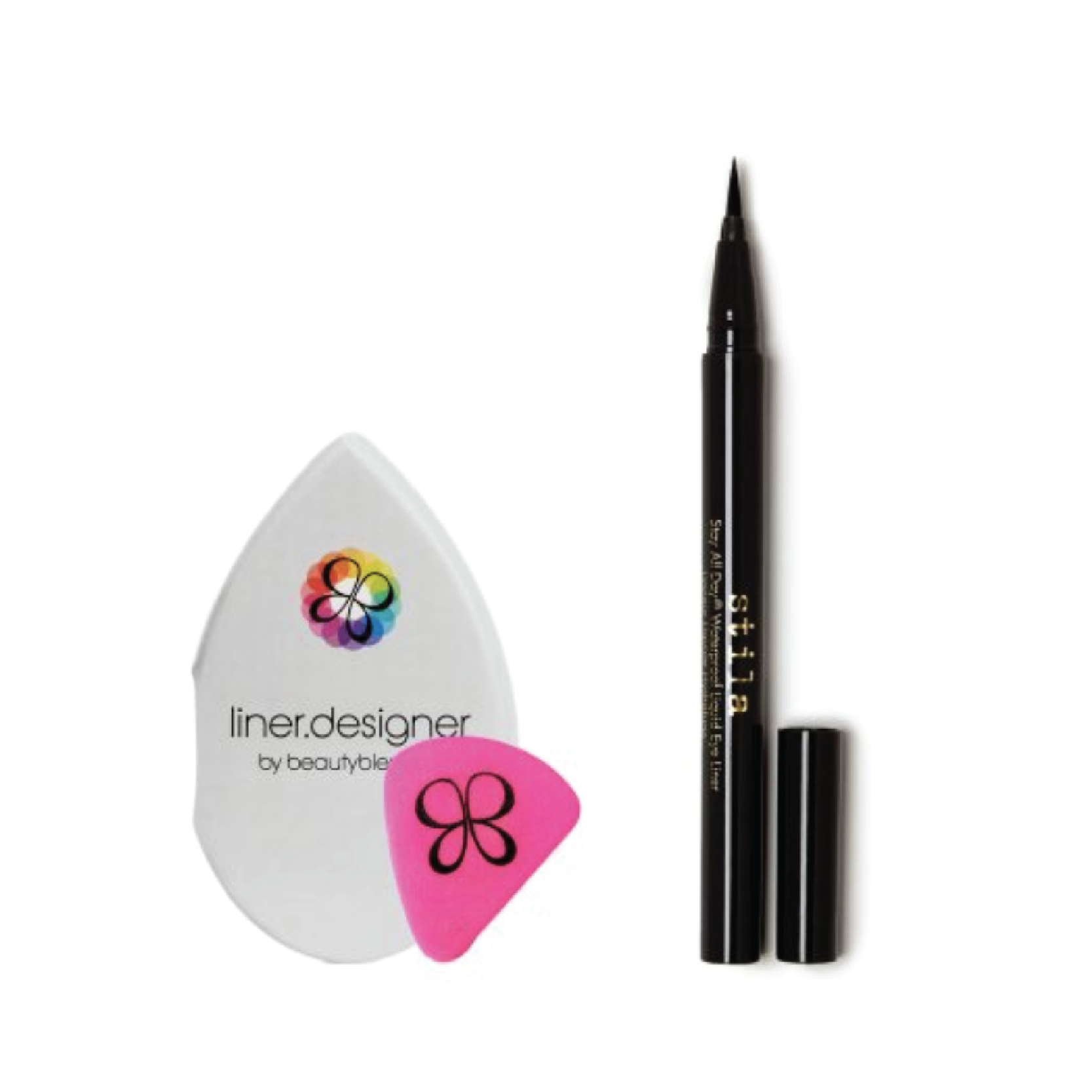 Stila Stay All Day Eyeliner x BeautyBlender Liner.Designer Duo - $25 at BirchboxThis is a great full-size set for perfecting a classic cat eye.