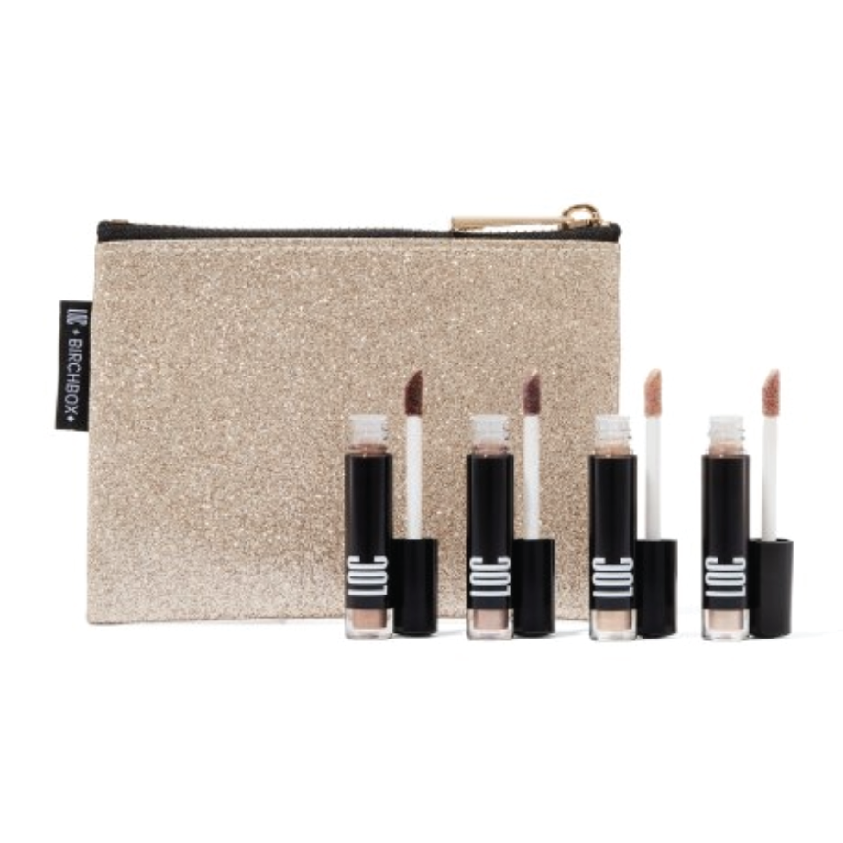Love of Color Liquid Shimmer Shadow Set - $25 at BirchboxThis perfect stocking stuffer comes with four liquid eyeshadows. LOC has been a brand that I've received through numerous Birchboxes and I'm always so impressed with.