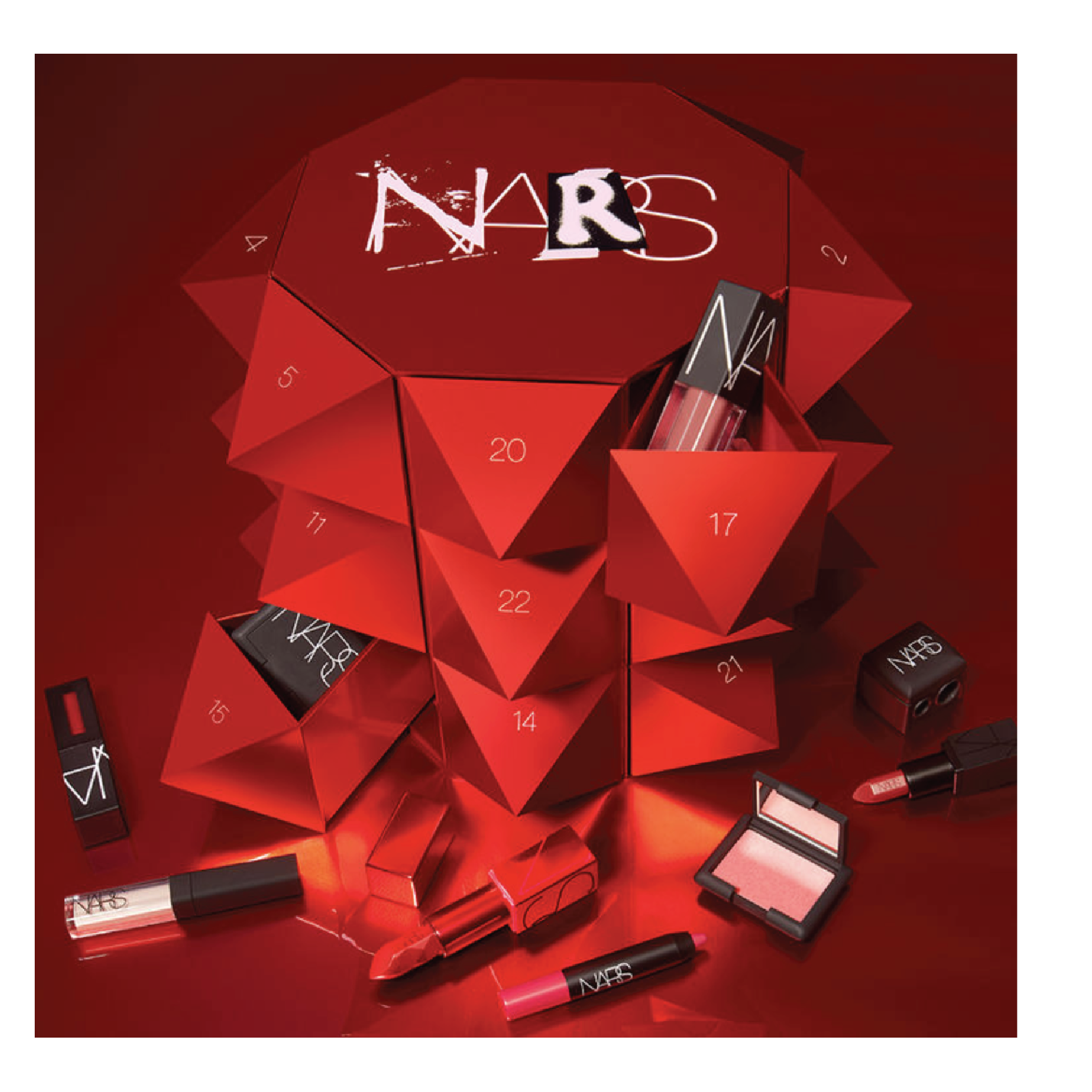 NARS Uncensored Advent Calendar - $150 at NARSThis has the best of the best of NARS in the coolest packaging.