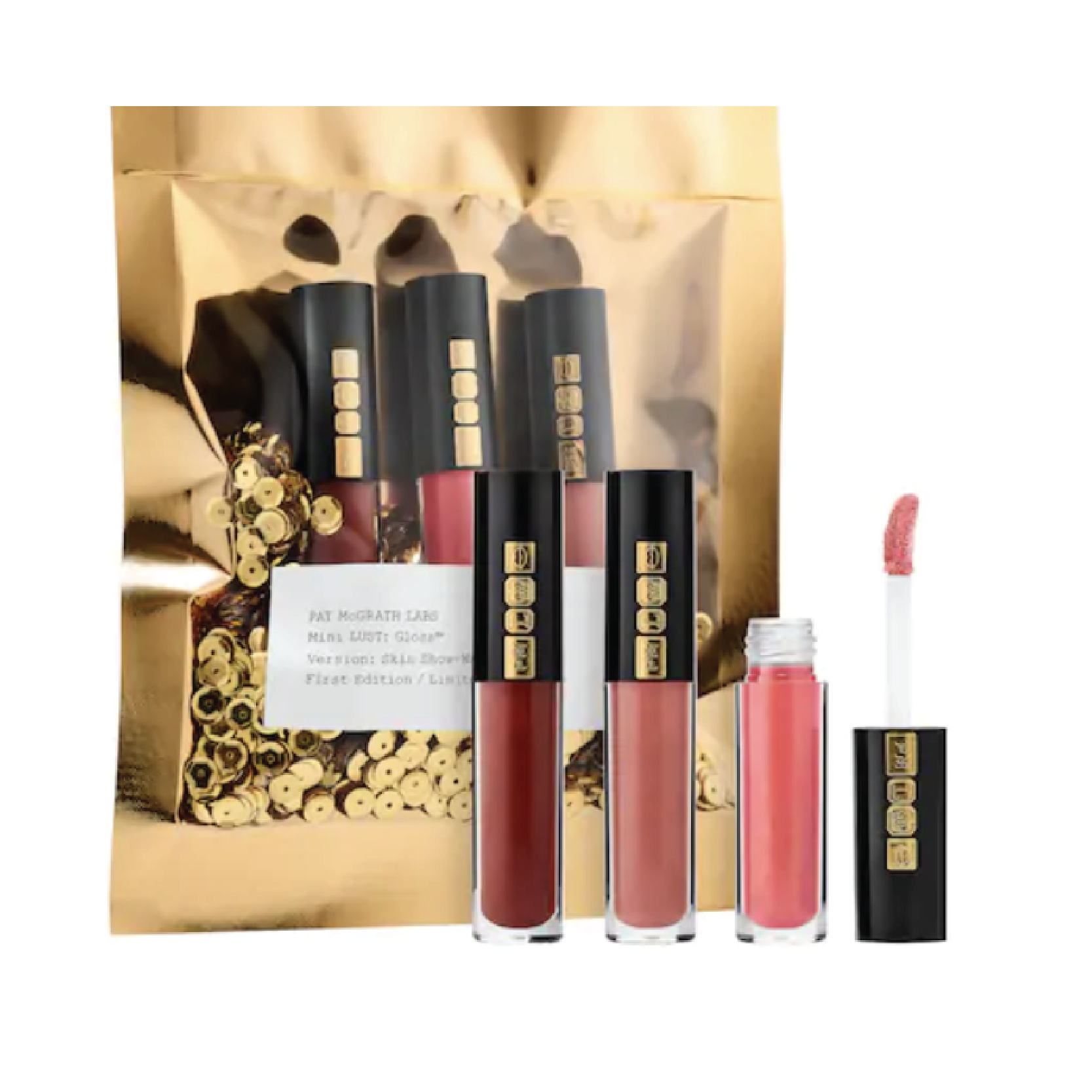 Pat McGrath Labs Mini Lust Gloss Trio - $25 at SephoraPat McGrath is iconic in the makeup world and this is the perfect affordable gift with luxury items.