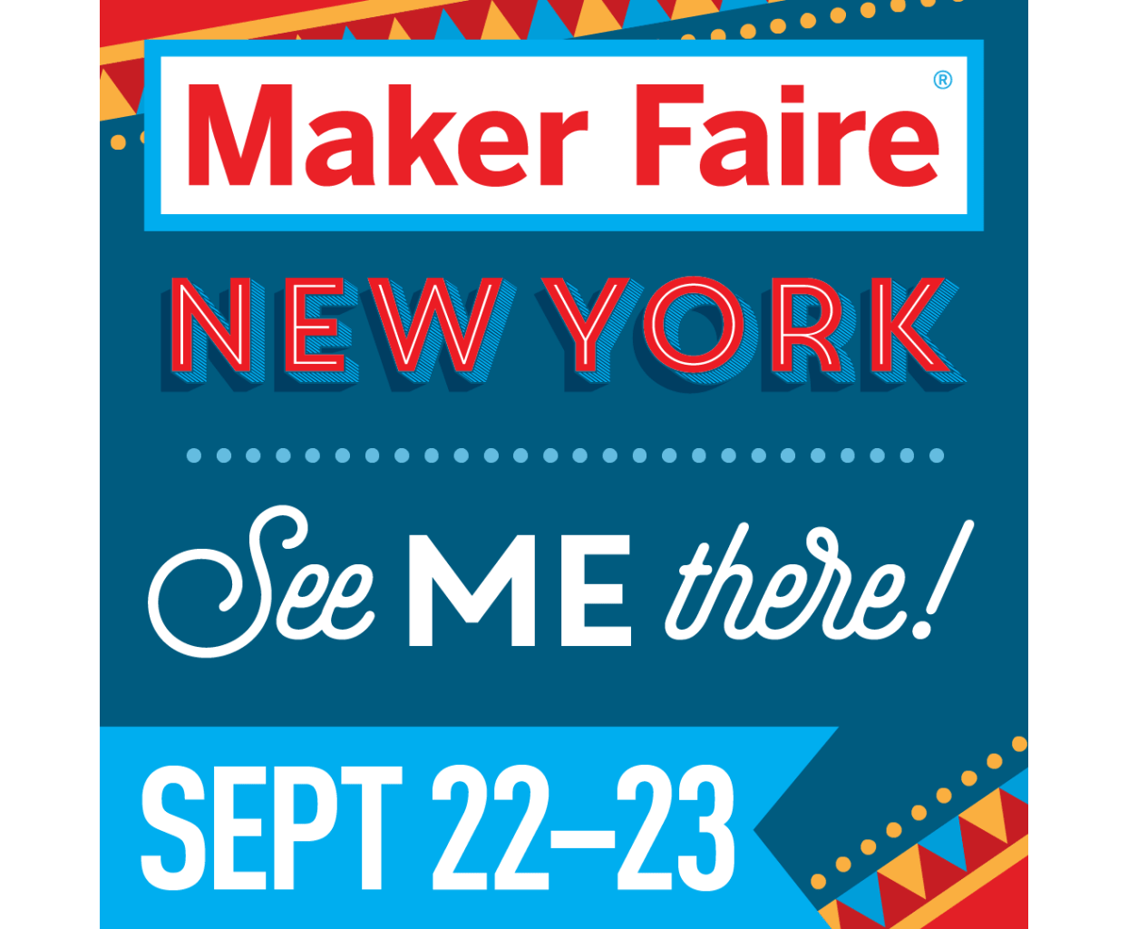 Maker Faire New York 2018 - Were you at Maker Faire New York in 2018? I was and it certainly seemed like all the big makers were there! It was a fantastic event and I barely left the DIY Content Creator tent the entire weekend.