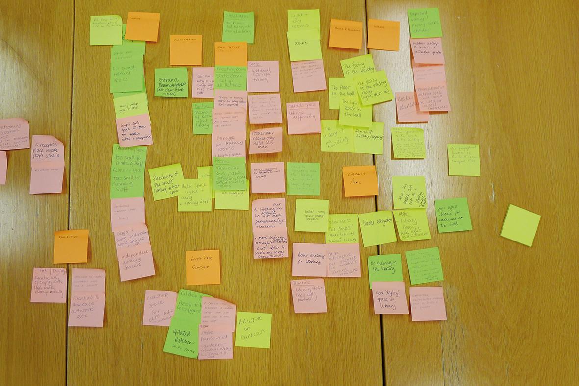 Result of the briefing workshop