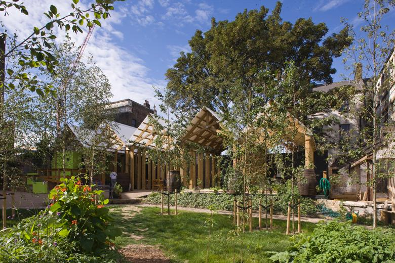 The Dalston Eastern Curve Garden (image credit J&L Gibbons)