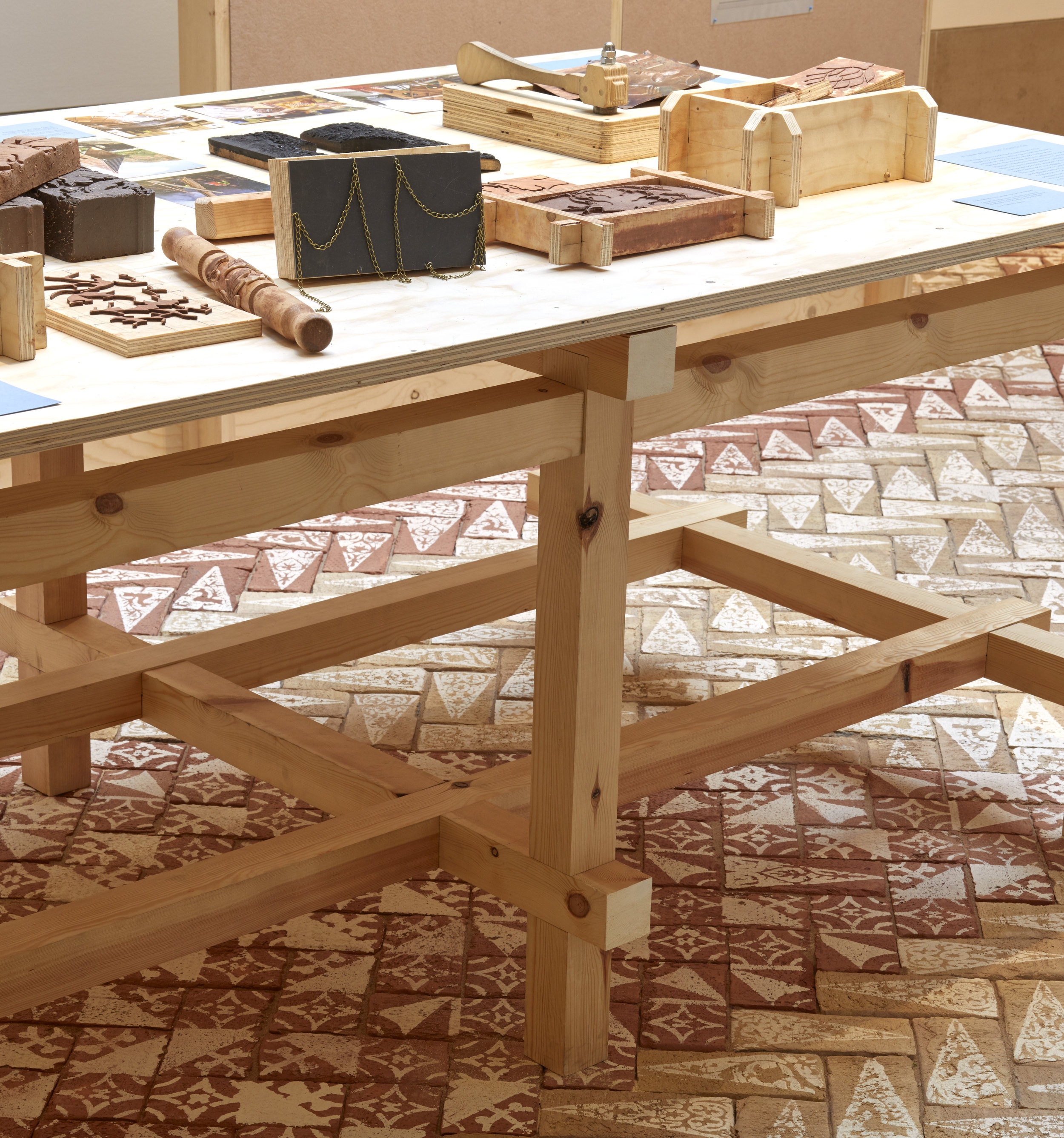 Everyone can make  by Takeshi Hayatsu, part of the RIBA's exhibition  Making It Happen: New Community Architecture  (image credit: Edmund Sumner)