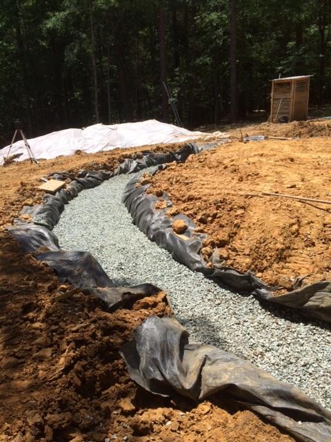 gravel filled trench.JPG