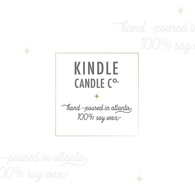 Sneak peek at shiny new look for Kindle Candle Co. Rolling out official new branding + packaging for side project! Follow my journey over at @kindlecandlecompany . . . #logo #calledtobecreative #creativebiz #modern #minimal #minimaldesign  #illustration #illustrator #fwportfolio #candlemaking #branddesign #branddesigner #whitespacewinter #logodesigner #atlanta #atlantagraphicdesigner #design #graphicdesign #creativeladydirectory #candlemaking