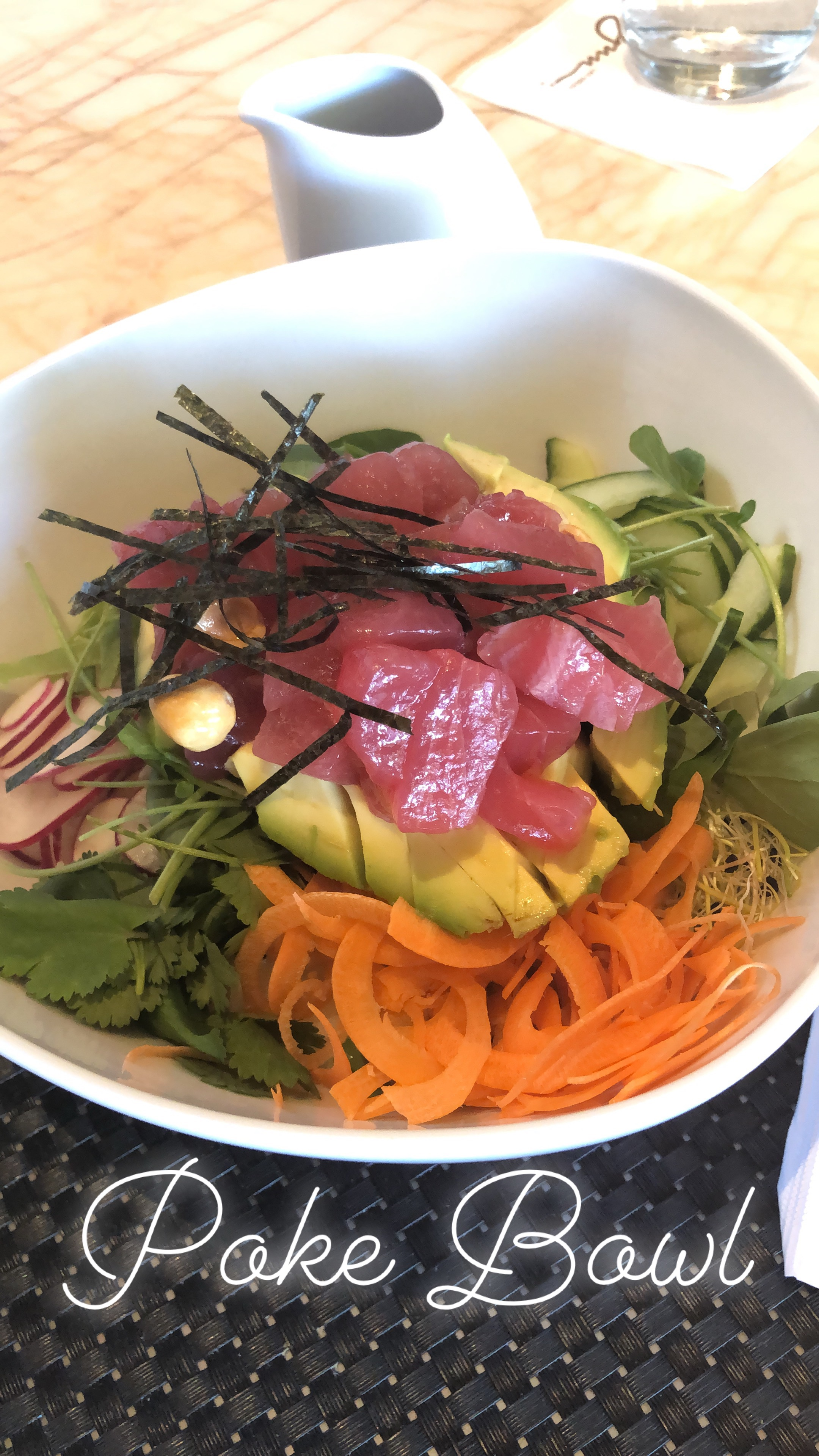 post workout Poke Bowl