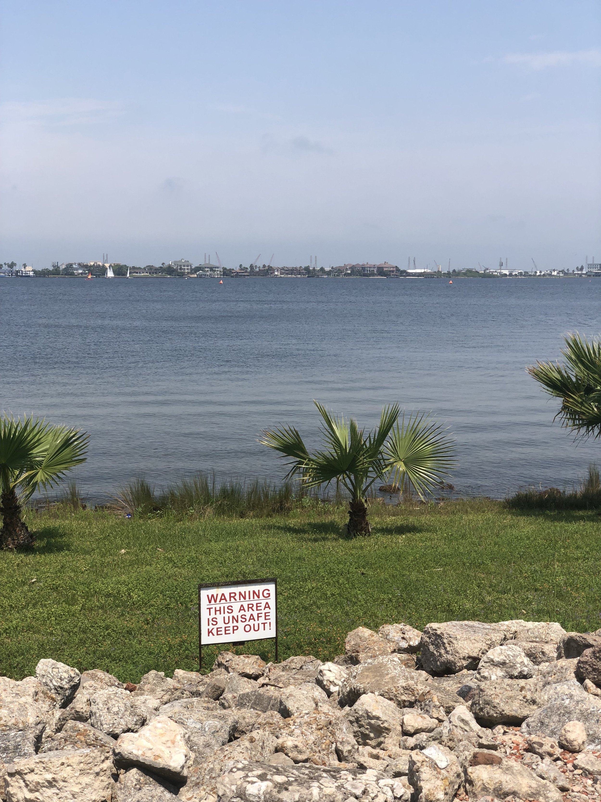 First view of Offats Bayou…