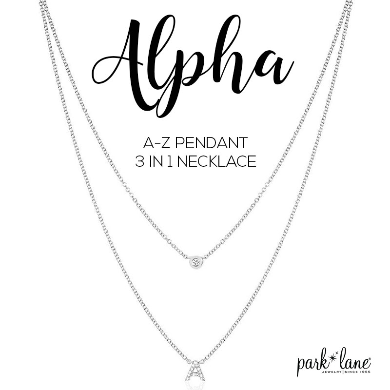 Alpha Necklace - $14 with a $30 purchase