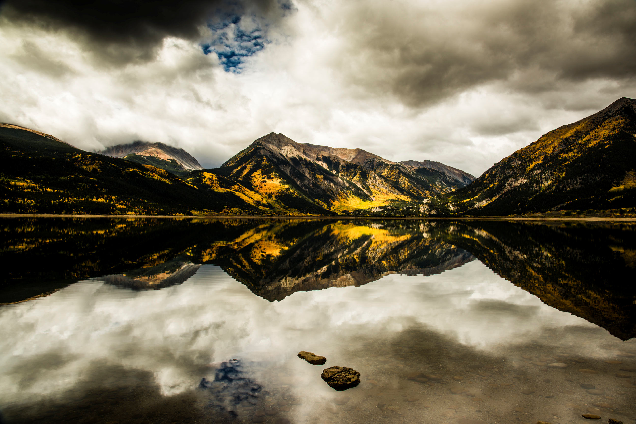 Twin Lakes Reflection I