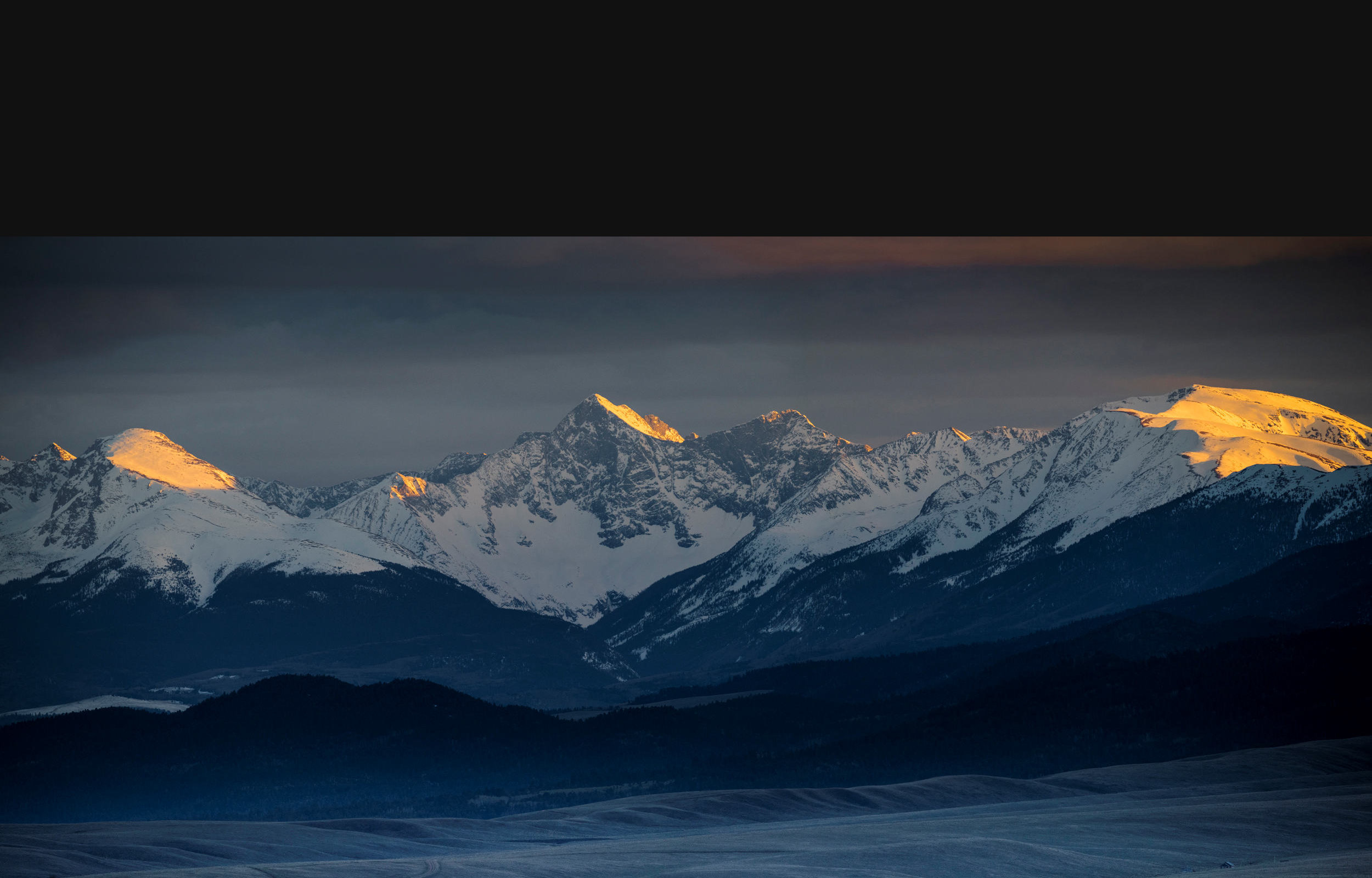 Sierra Blanca Sunset
