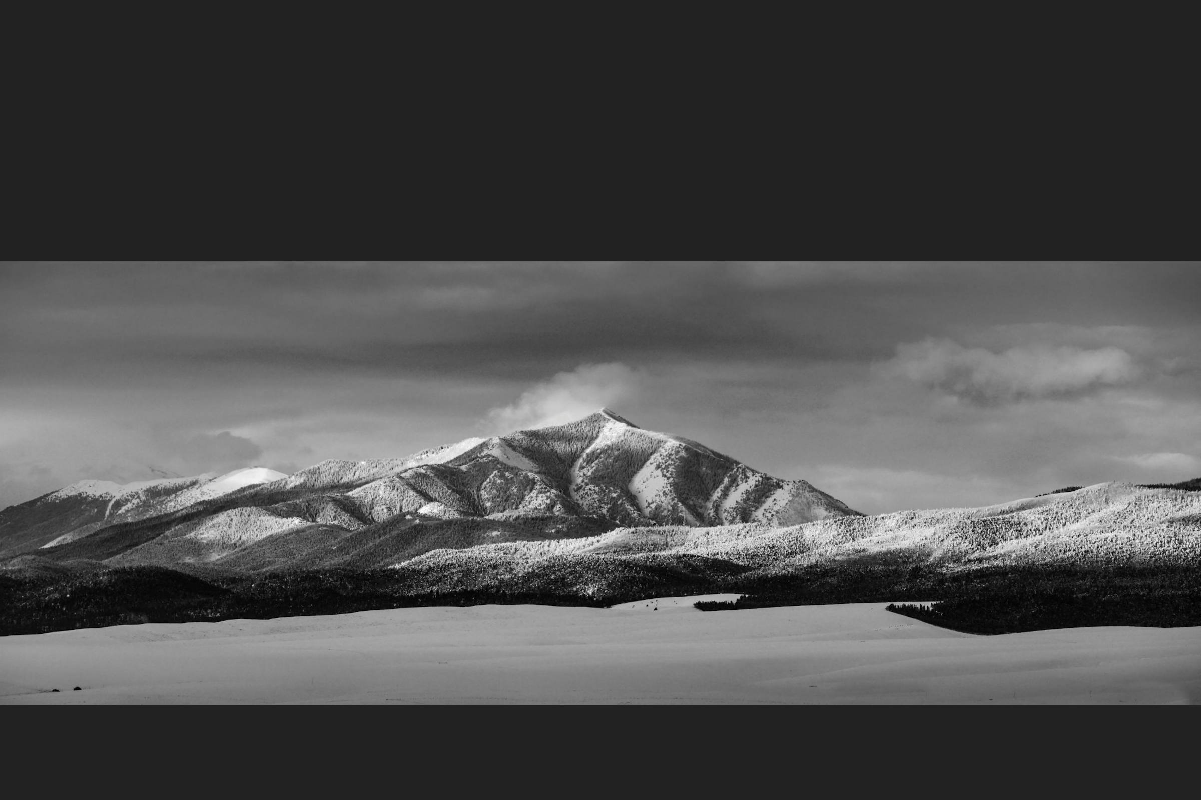 Winter Morning in the Rockies II