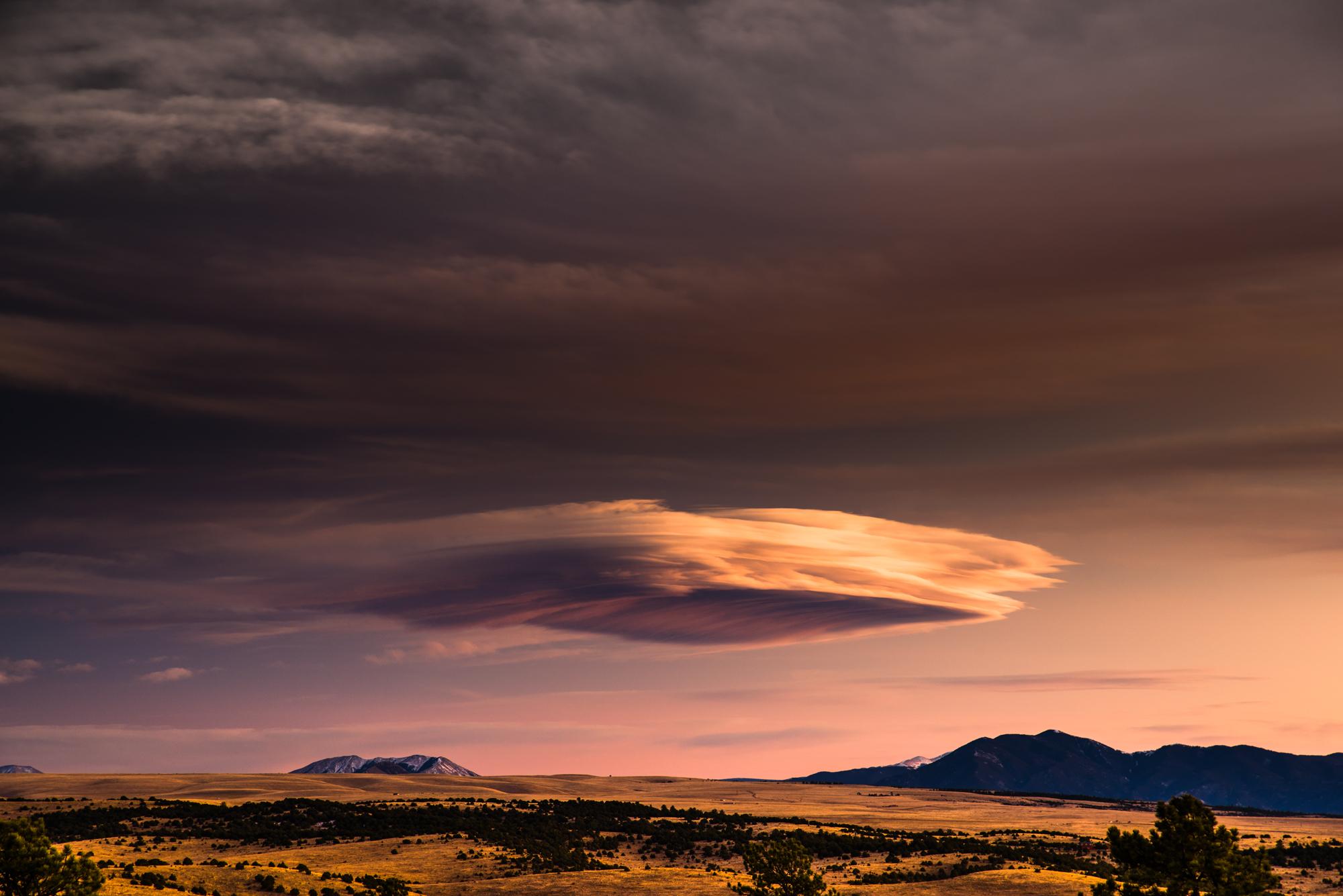 Evening Cloud I