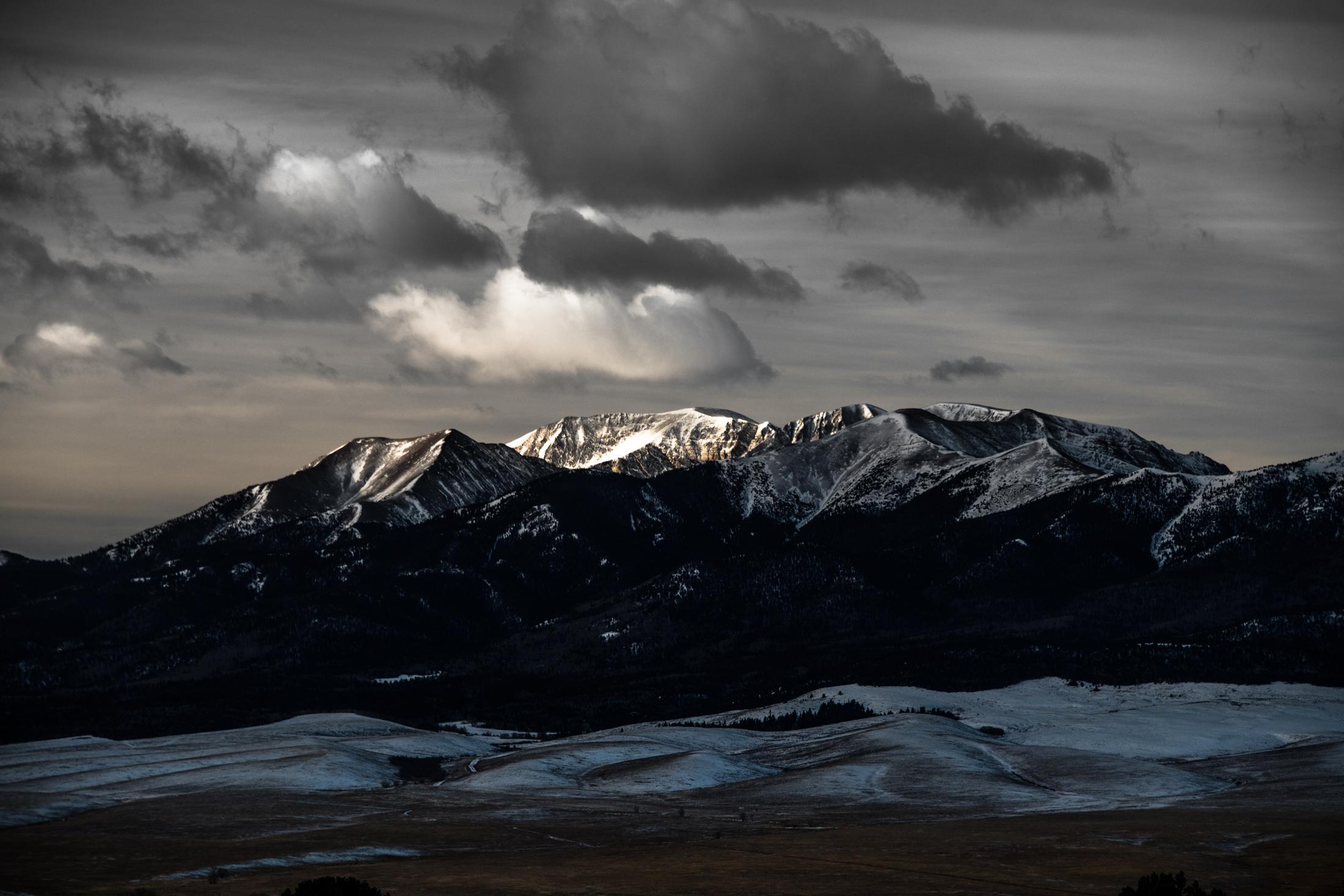 Mount Herard First Light