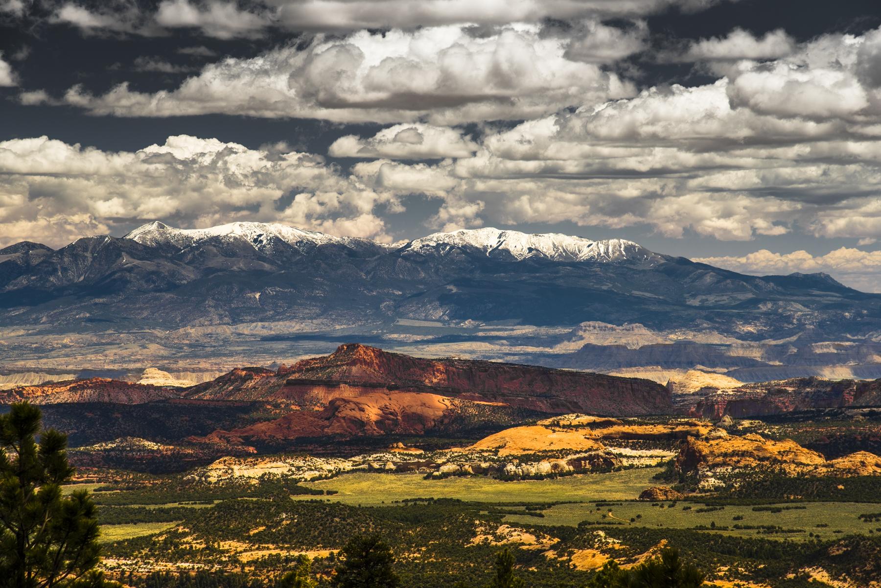 Utah Sky And Earth