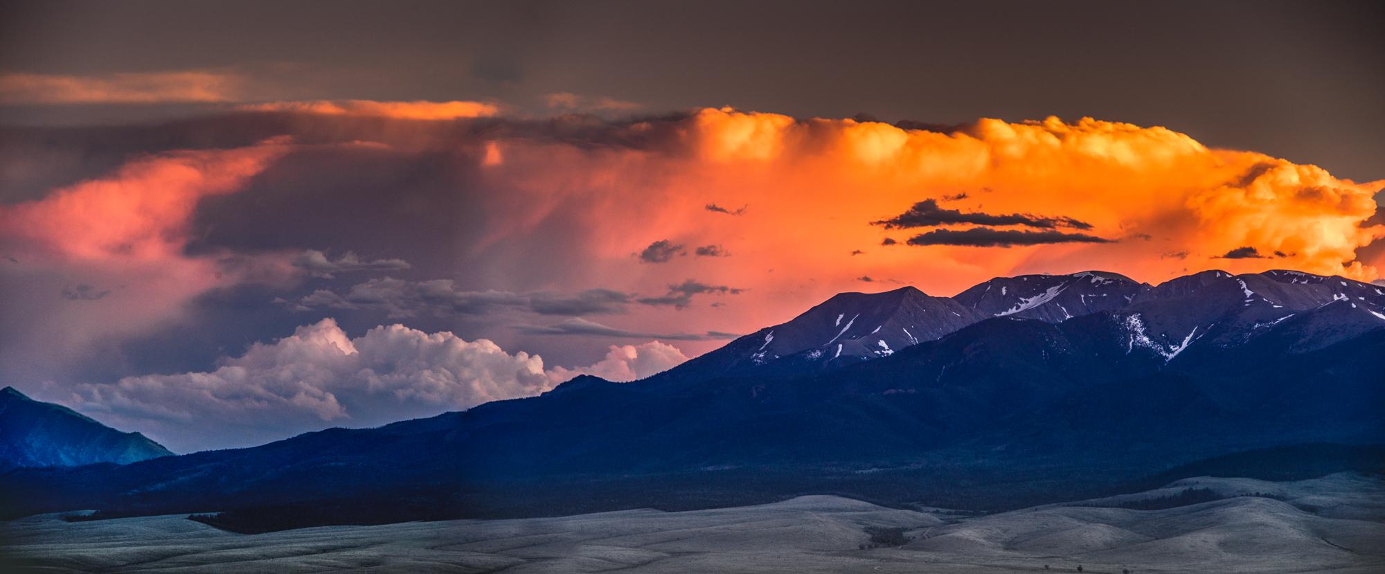 Evening Storm Over Sangres II