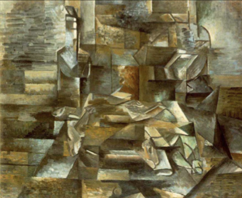 (28) Copy: Modernity's realization that in painting, the more lifelike the greater the deception.