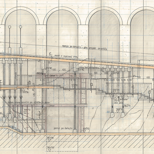 Ambient: The Restoration of Ljubljana Castle   A selection of technical drawings from the archive of Slovenian bureau Ambient d.o.o.