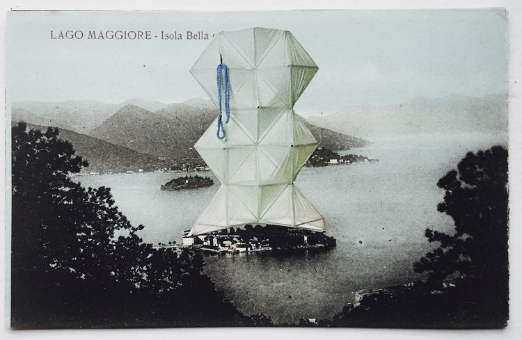 """Luca Galofaro: Writing by Images, Thinking by Images   """"Collages are for me the shape of an idea, the story of a journey, a way of putting thoughts together."""""""