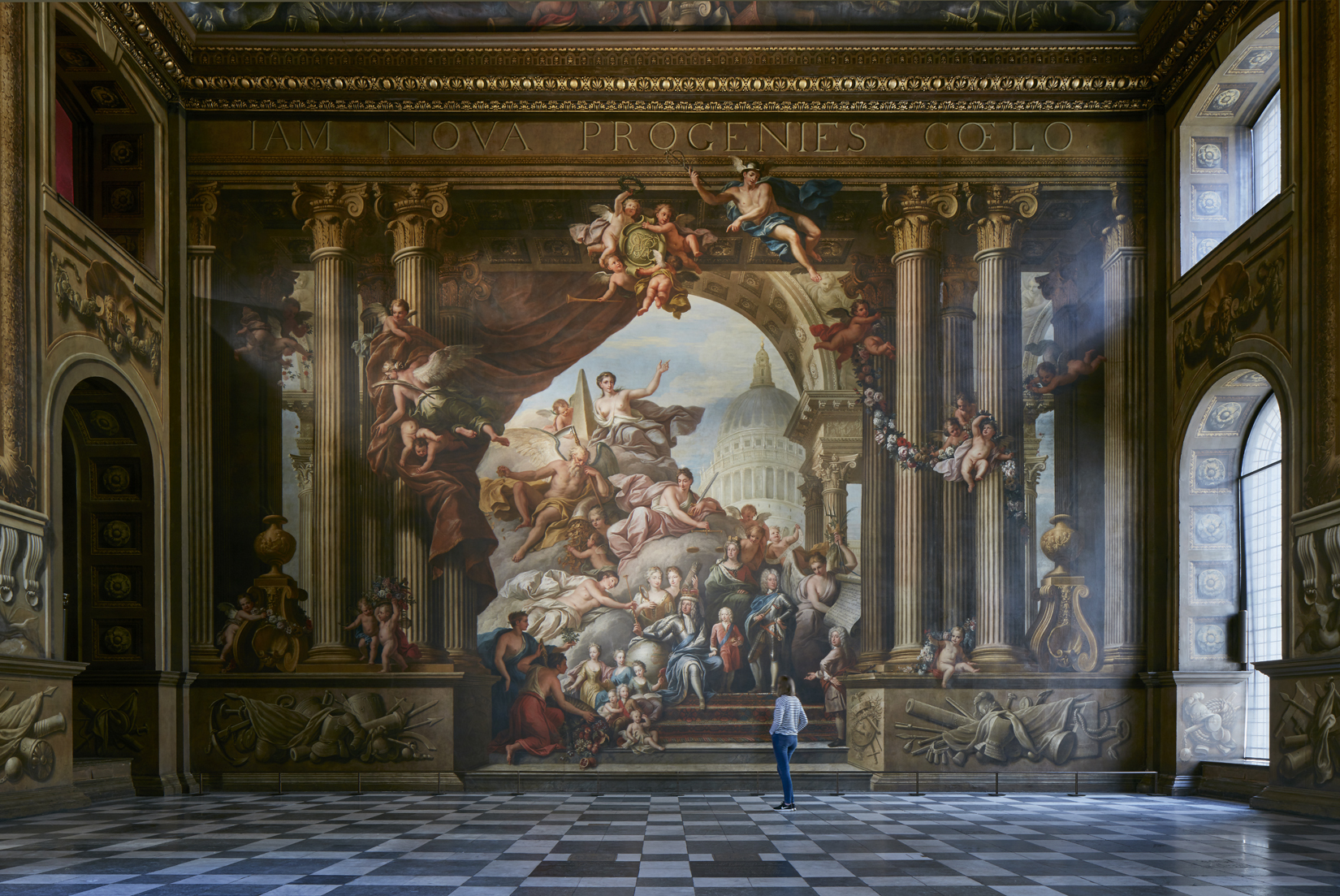 James Brittain: Photographing the Painted Hall   Architectural photographer James Brittain on documenting this restored masterpiece in the Old Royal Naval College in Greenwich.