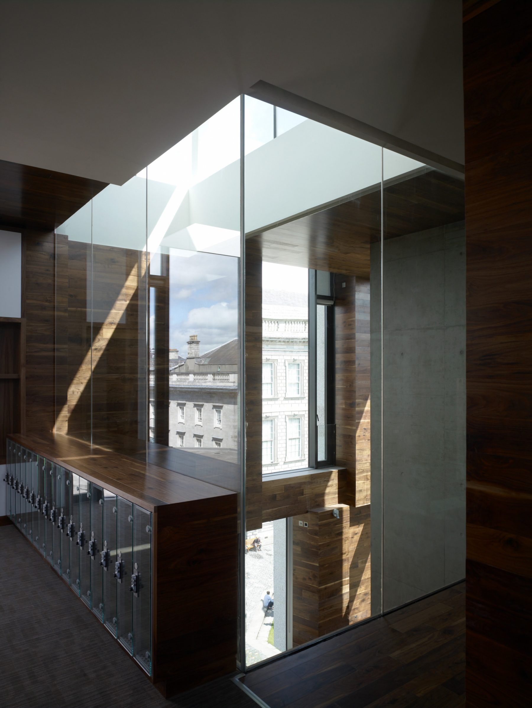 Trinity Long Hub Room by McCullough Mulvin Architects
