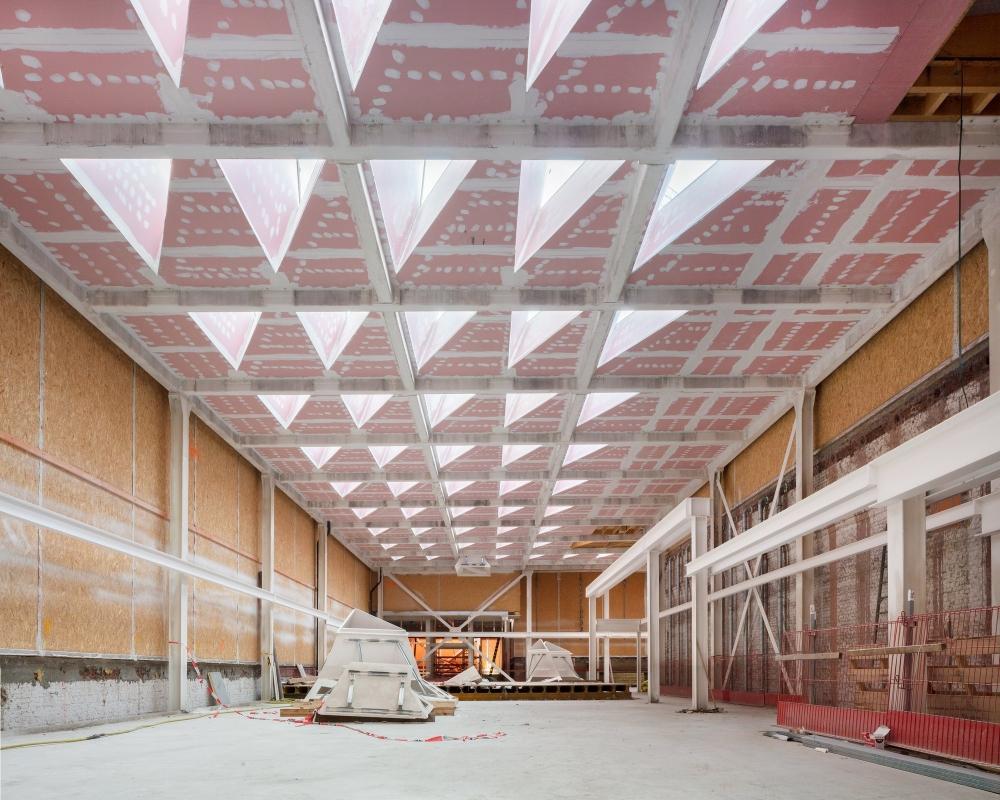 Karin Borghouts: KMSKA Renovation   Photographs of Antwerp's Royal Museum of Fine Arts, KMSKA, under construction.