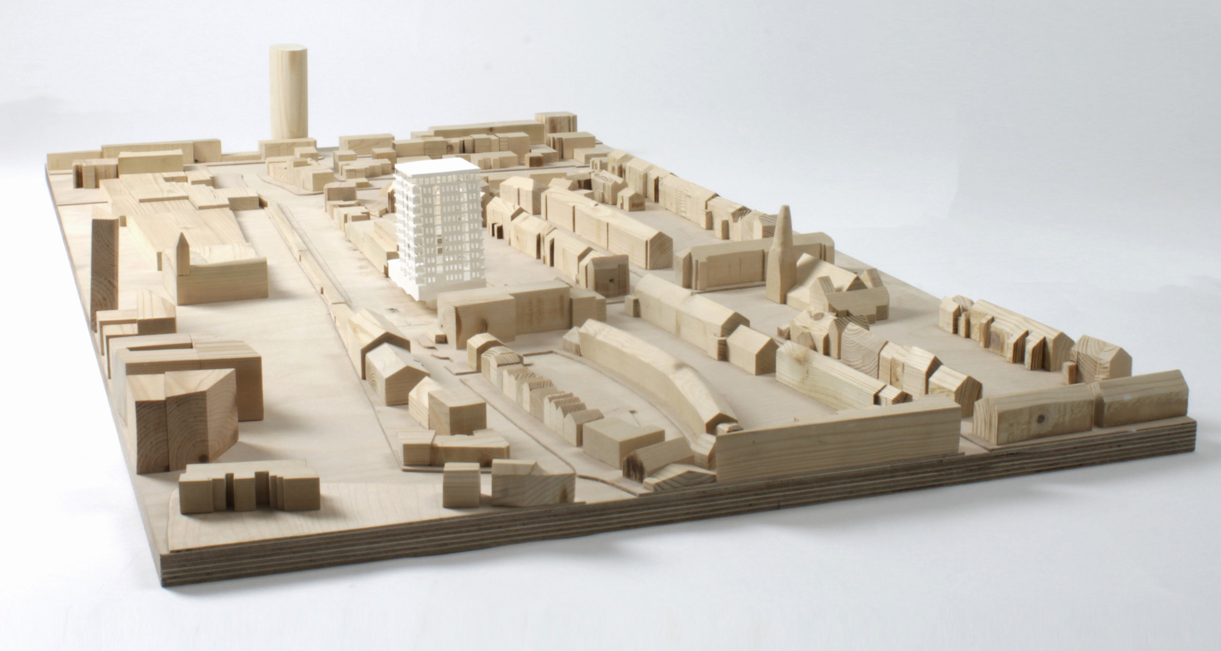Site Model, 1 to 500 scale