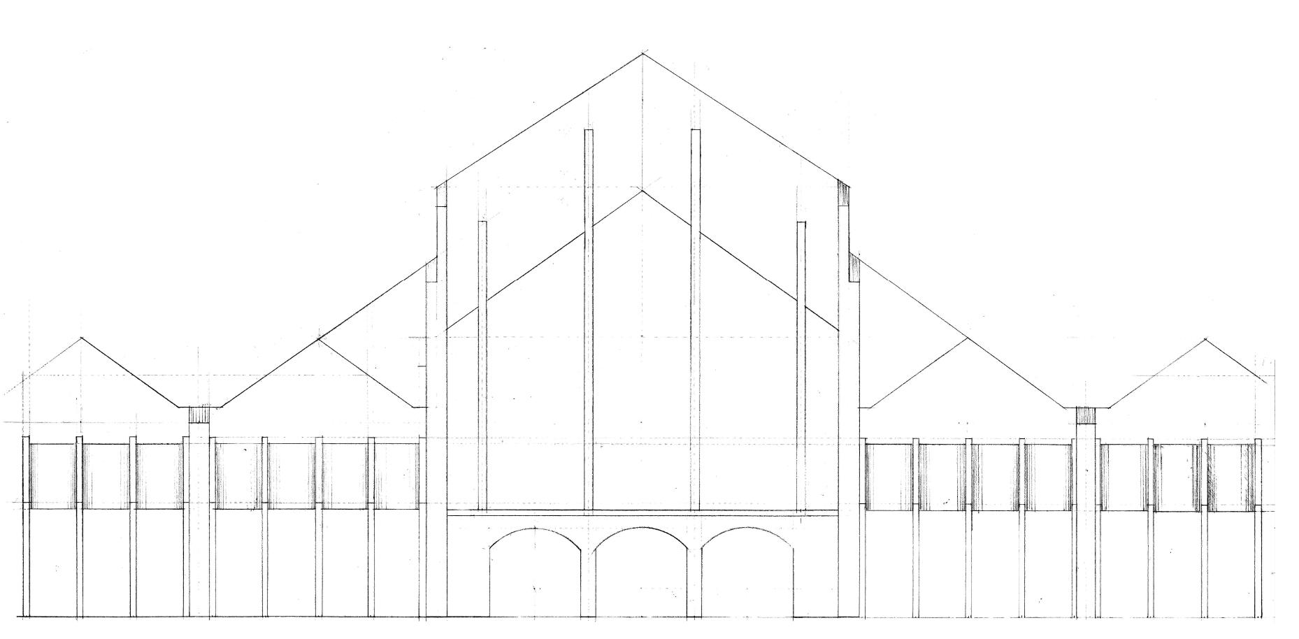 Sketch for Proposed Rear Elevation