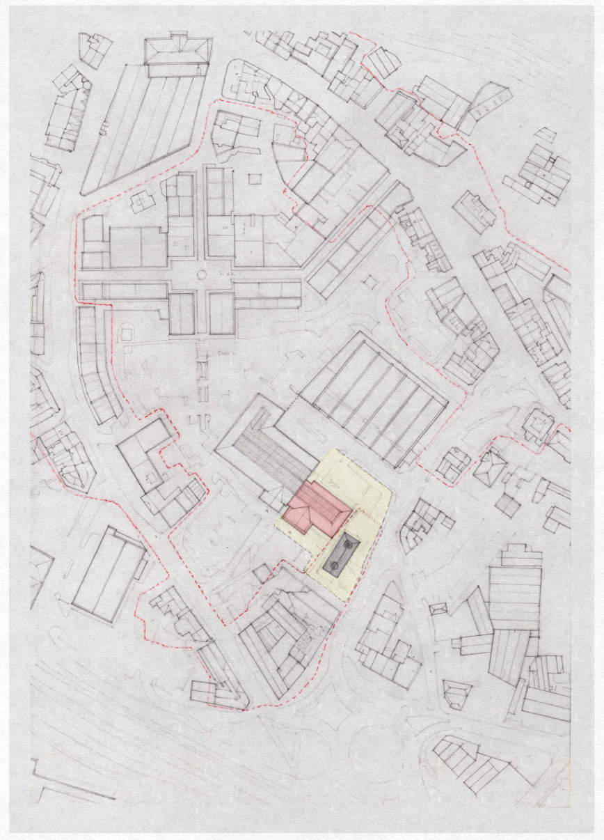 Site Plan with Proposed Demolition
