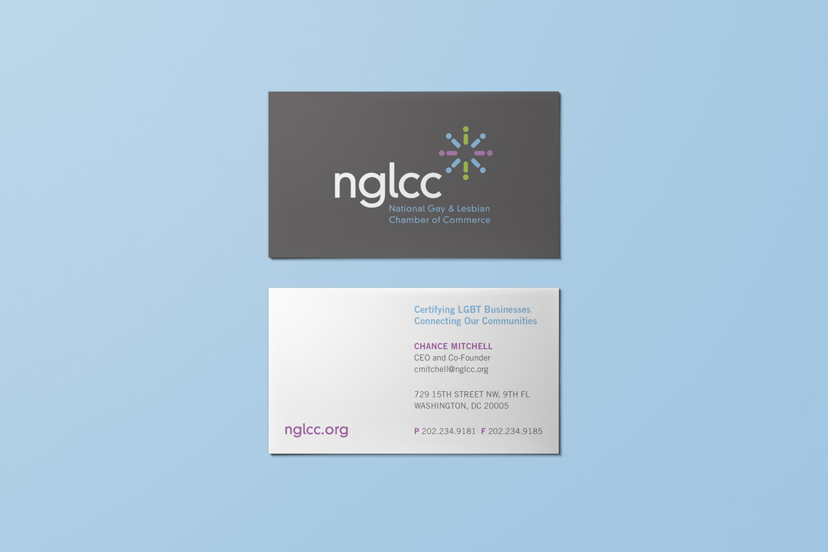 NATIONAL GAY & LESBIAN CHAMBER OF COMMERCE:  Rebrand