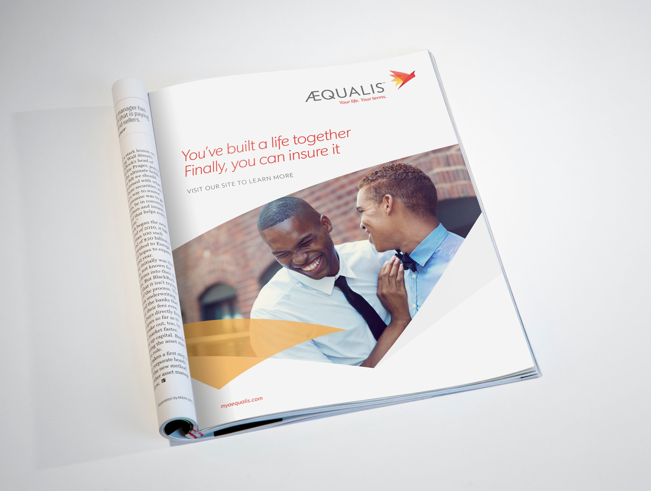 AEQUALIS:  Rebrand +LGBTQ focused Advertising
