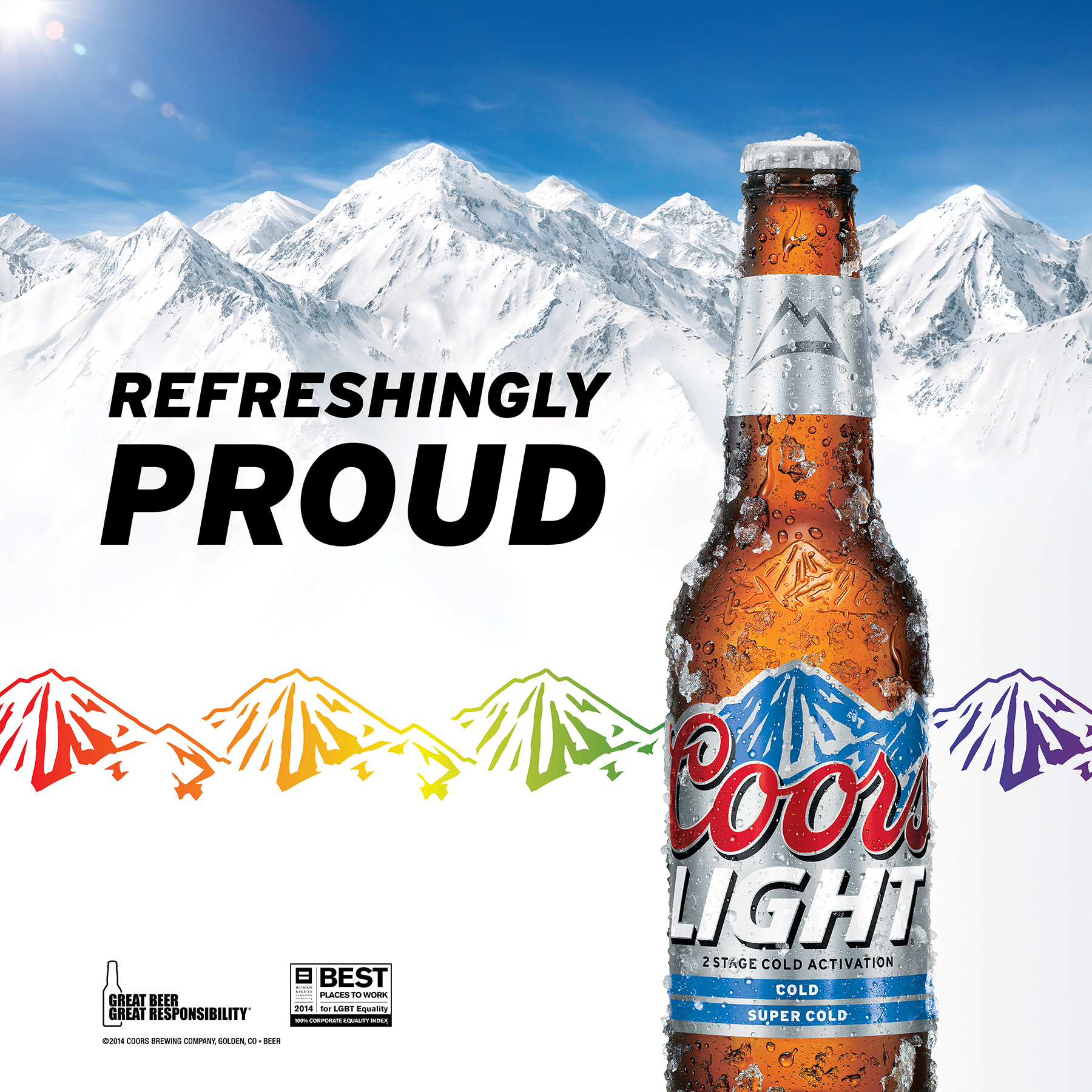 COORS LIGHT:  LGBTQ Advertising