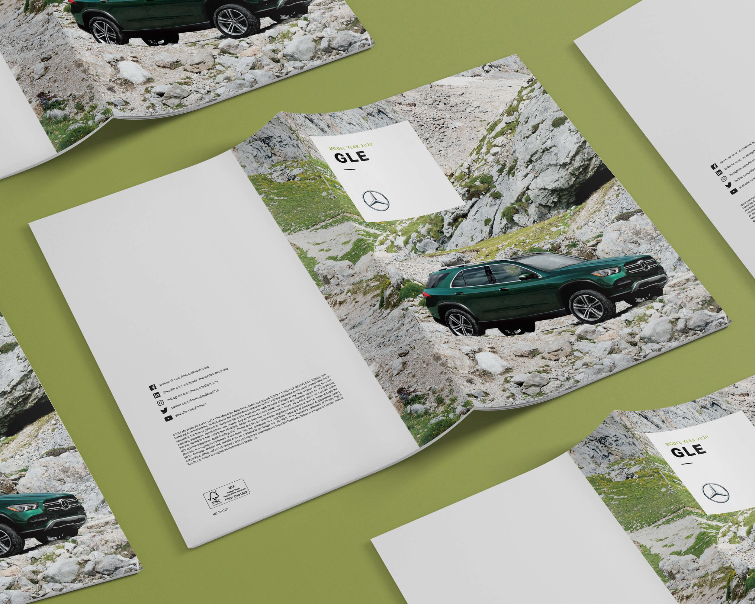 Mercedes-Benz - Vehicle Brochures (Click for Case Study)