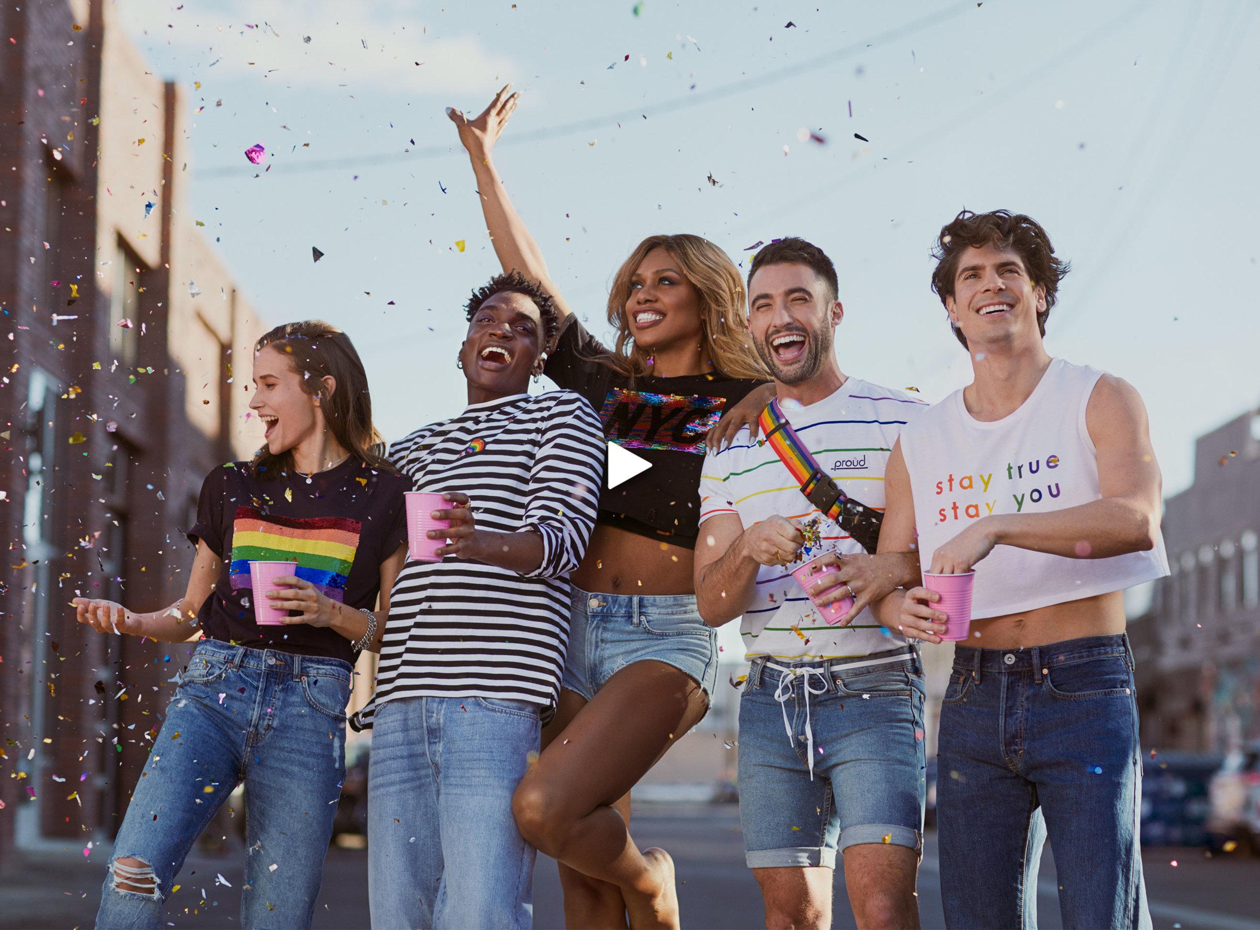 H&M- Pride Capsule Campaign (Click for Case Study)