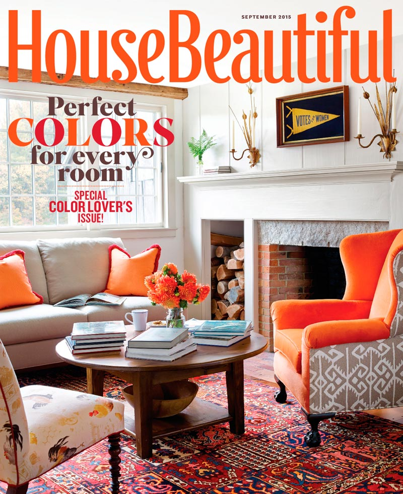 Catherine Brown Paterson - House Beautiful Sept. 2016