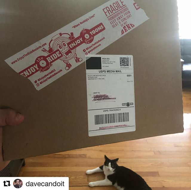 #Repost @davecandoit with @get_repost ・・・ I got something in the mail today!! Shamelessly ordered all three variants of my vinyl from @enjoytheriderecords. You can too at www.enjoytheriderecords.com // link in bio - Honestly, from the outside looking in I can understand how it looks. I actually find it really sad that a lot of the bands I toured with couldn't sustain a career and have to live off of nostalgia. All artists want to grow and move forward in their career. But I really feel like this release is an exception... I've thought a lot about it (in case you haven't noticed) - First of all, I never got a chance to release anything. So this doesn't even count as nostalgia 😛  Second, I've moved on with my life. I haven't left music behind but I am also not touring or actively trying to make 💰 from music. It's not about the $$$ for me esp with this release. It's about validation and knowing that people finally got to hear these songs.  And third/lastly, I always felt guilty that I never gave my fans a full length. Sure there aren't many of you, but anyone who ever supported me deserved to at least have a momento.  And that's what it's all about !